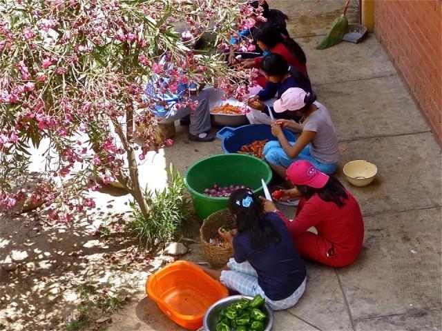 Spendenprojekt Cuatro Esquinas, Bolivien