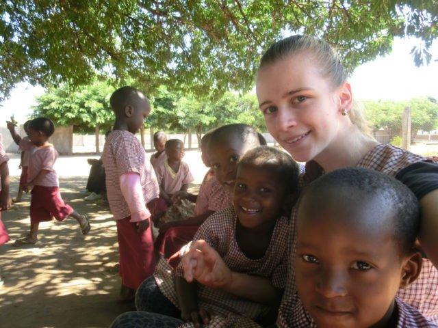 Viktoria Lehmann in Mosambik